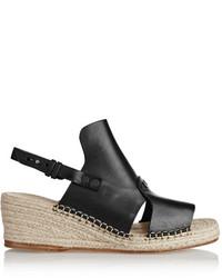 Rag and Bone Rag Bone Rag Bone Sayre Ii Leather Espadrille Wedge Sandals