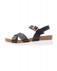 Wedge sandals black medium 4278570