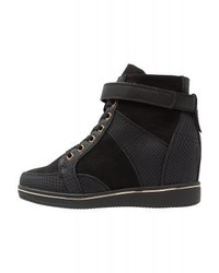 Milton 2 high top trainers black medium 4278472