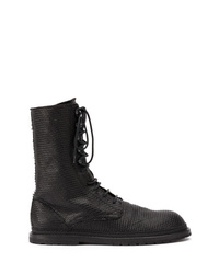 Ann Demeulemeester Lace Up Boots