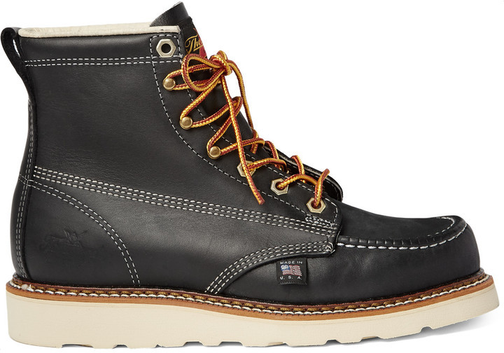 Thorogood  Shoes  Oil-Tanned Leather Boots  lX7VcVsI  Black