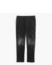 J.Crew Girls Cozy Everyday Leggings In Sparkle Splatter