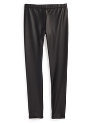 Ruby & Bloom Girls Faux Leather Leggings