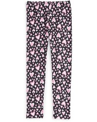 Girls Truly Me Heart Graphic Leggings