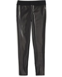 Girls Tucker Tate Faux Leather Leggings