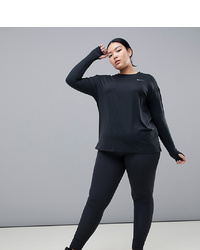Nike Training Plus Bliss Pants In Black