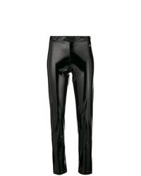 Versace Jeans Shiny Stretch Leggings
