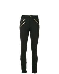 Versace Jeans Zip Front Leggings
