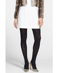 Nordstrom Velvet Purr Tights Black Smallmedium