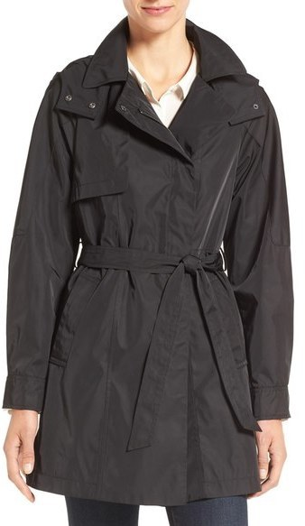 Kristen Blake Water Repellent Trench Coat