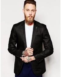Asos Slim Fit Suit Jacket In 100% Linen