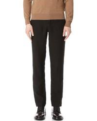 Black Linen Dress Pants