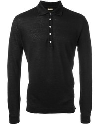 Massimo Alba Long Sleeved Polo Shirt