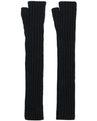 Balmain Long Fingerless Gloves