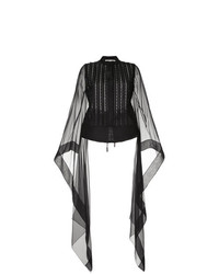Antonio Berardi Hanging Sleeve Blouse