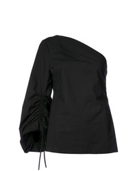 Josie Natori One Shoulder Blouse