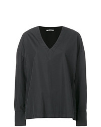 Barena Oversized V Neck Top