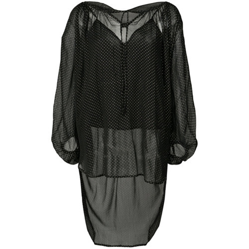 Mes Demoiselles Spotted Loose Fit Blouse
