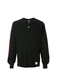 Hysteric Glamour Buttoned Neckline Sweatshirt