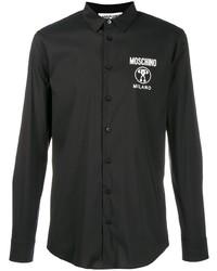 Moschino Contrasting Logo Print Shirt