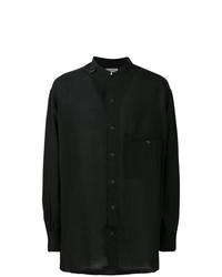 Yohji Yamamoto Mandarin Collar Shirt