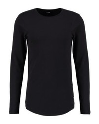 Onsmatt longy muscle fit long sleeved top black medium 4159239