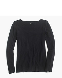 J.Crew Petite Long Sleeve Painter T Shirt