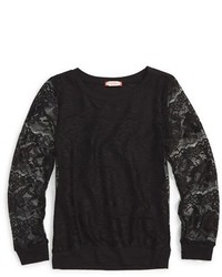 Ruby Bloom Long Sleeve Lace Top