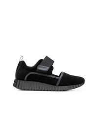 Salvatore Ferragamo Velvet Sneakers