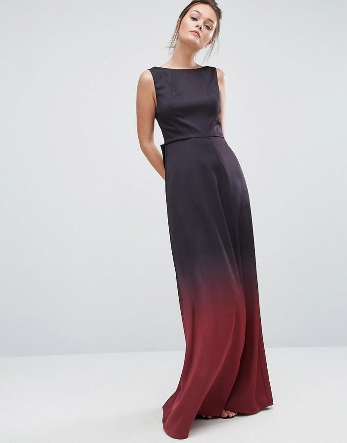 ff3a5114951 Ted Baker Ombre Maxi Dress 302 Asos Lookastic Uk