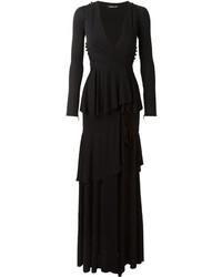 Roberto Cavalli Ruffled Maxi Dress