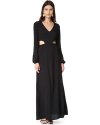 Wildfox Couture Wildfox Cut It Out Maxi Dress