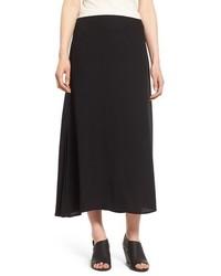 Eileen Fisher A Line Silk Maxi Skirt