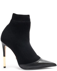 Balmain Aurore Knitted Ankle Boots