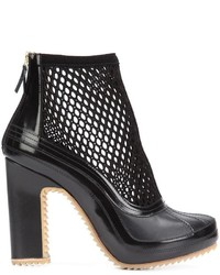 Pierre Hardy X Sacai Mesh Ankle Boots