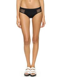 Black Mesh Bikini Pant