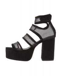 Catori high heeled sandals black medium 4021948