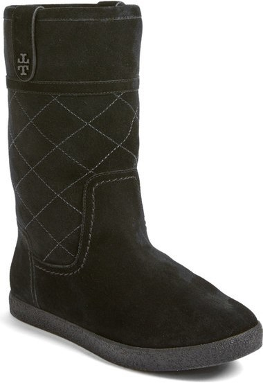 ce29ac7c72a ... Boots Tory Burch Alana Genuine Shearling Boot ...
