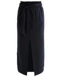 Compass maxi skirt black medium 3905281