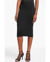 Leith Double Layered Tube Skirt Black X Large
