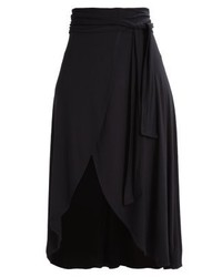 Wrap maxi skirt true black medium 3935744