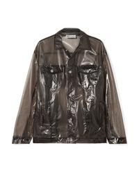 REDVALENTINO Glossed Pu Jacket