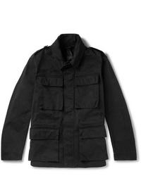 Ten C Woodland Ojj Coated Canvas Field Jacket