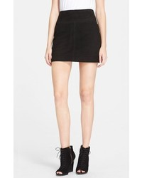 Burberry Brit Suede Miniskirt