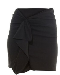 Isabel Marant Quena Ruffle Trimmed Mini Skirt