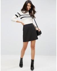 ASOS DESIGN Tailored A Line Mini Skirt