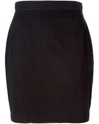 Thierry Mugler Vintage High Waisted Mini Skirt