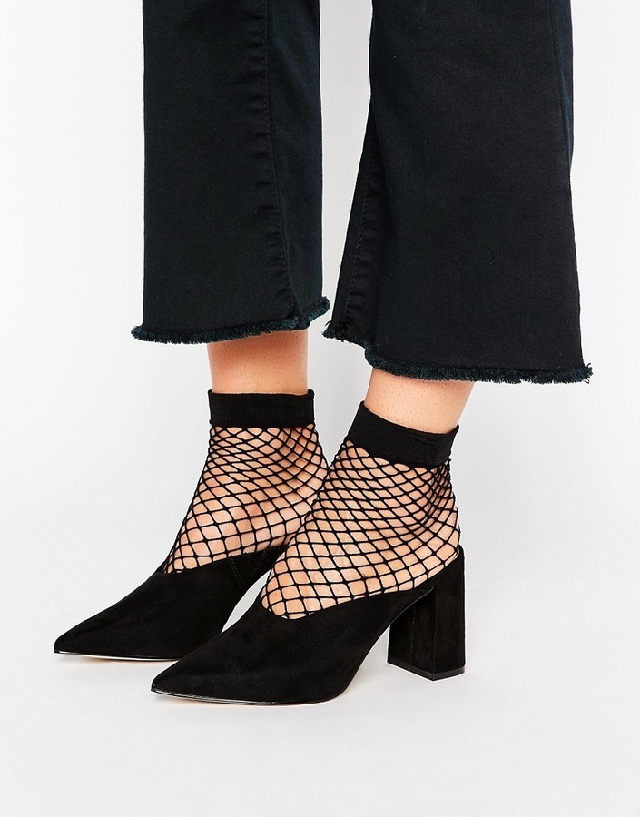 f89e6e5f5 Asos Pinkie Pointed Heeled Mules, £38 | Asos | Lookastic UK