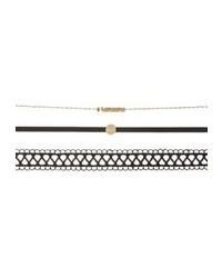 Onlali 3 pack necklace black medium 4136983