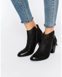 Dune Polly Kitten Heel Ankle Boot